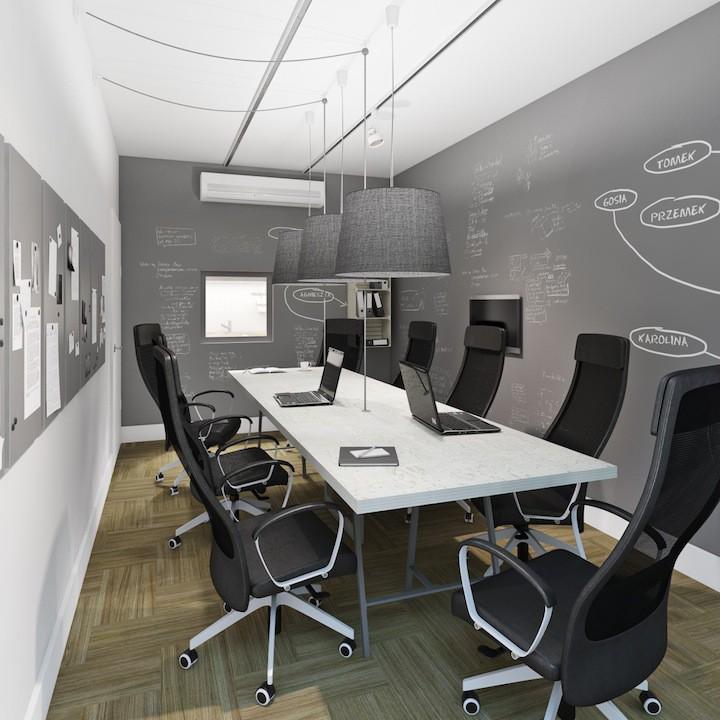 Kraków - biuro firmy Consus Carbonegeenering 80m2