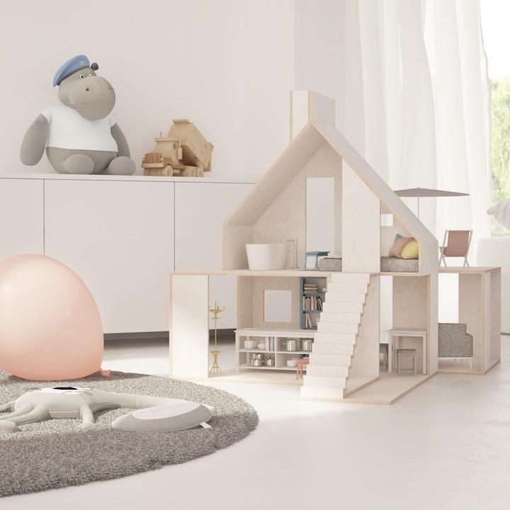 Domek dla lalek - Boomini Wood