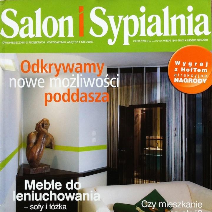 SALON I SYPIALNIA 5/2007