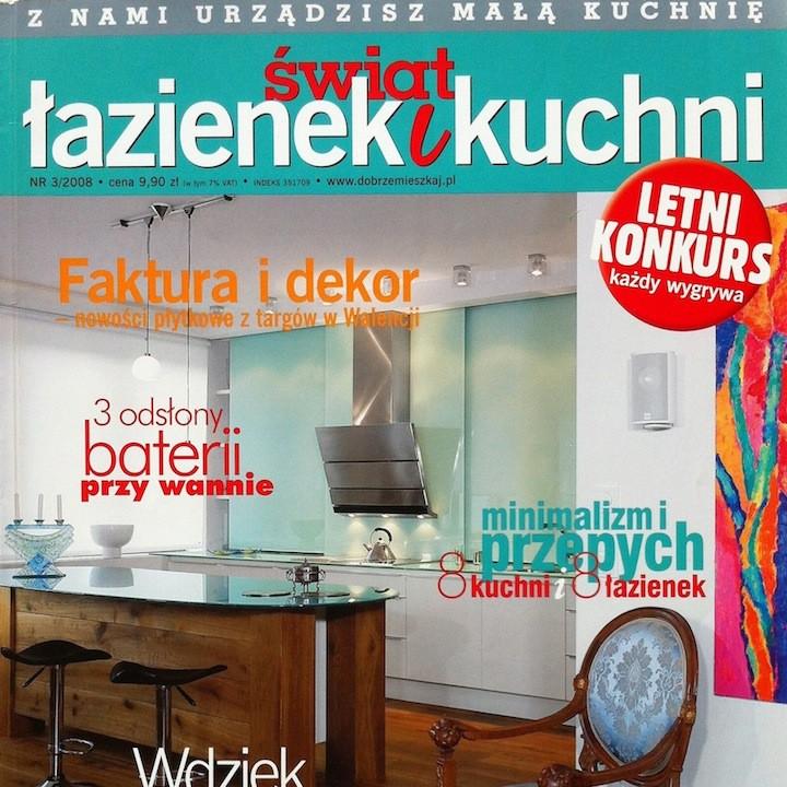 ŚWIAT ŁAZIENEK I KUCHNI 3/2008
