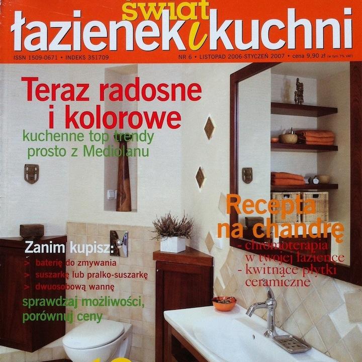 ŚWIAT ŁAZIENEK I KUCHNI 6/2006