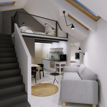 Kraków - mieszkanie 35m2