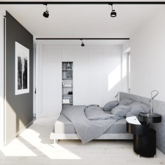 Warszawa - mieszkanie MAB, 65m2 (wizualizacje)