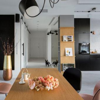 Warszawa - mieszkanie MOK, 115m2 (zdjęcia realizacji)