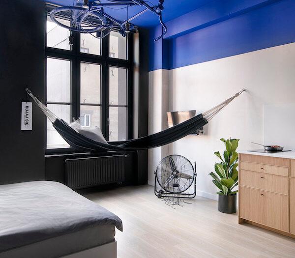 Wrocław - aparthotel Bike'up - pokój Blue Superior