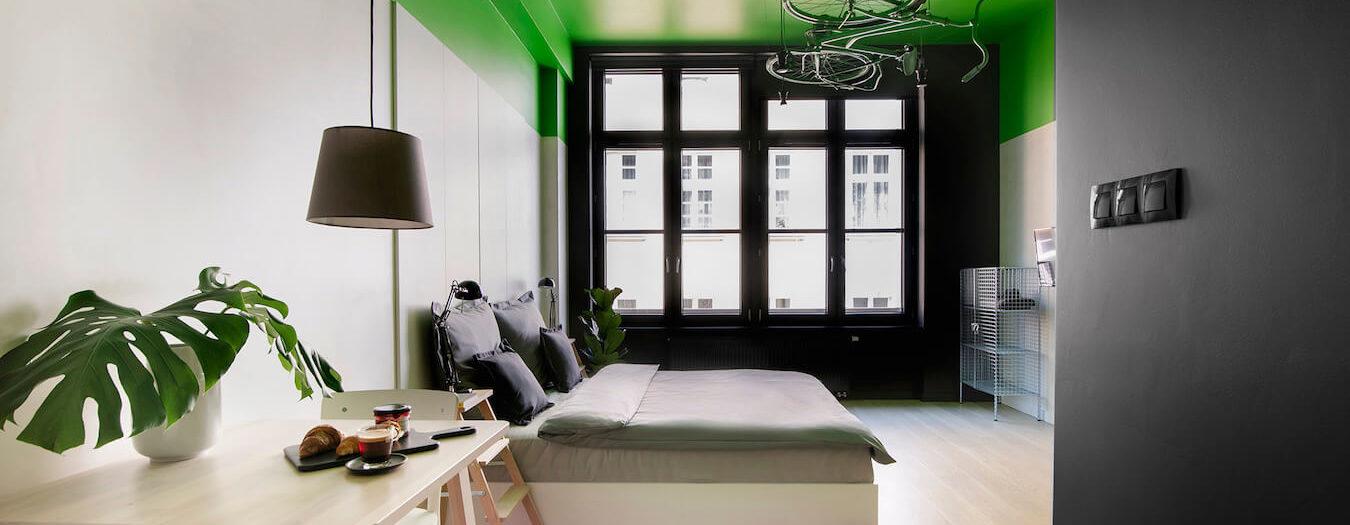 Wrocław - aparthotel Bike'up - pokój Green