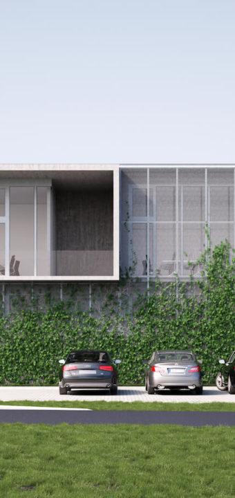 Piła - biurowiec Colours Factory/architektura