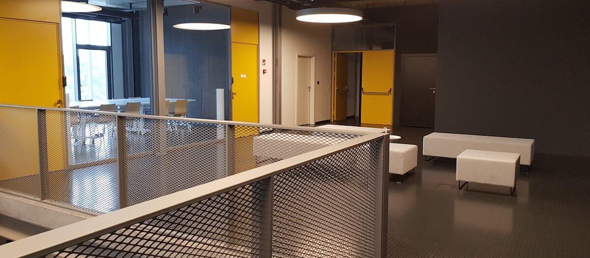 Piła - biurowiec Colours Factory (zdjęcia realizacji)